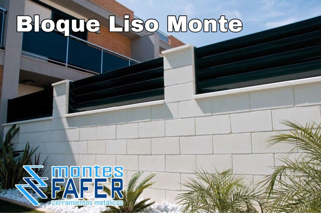 Bloque liso monte MontesFafer